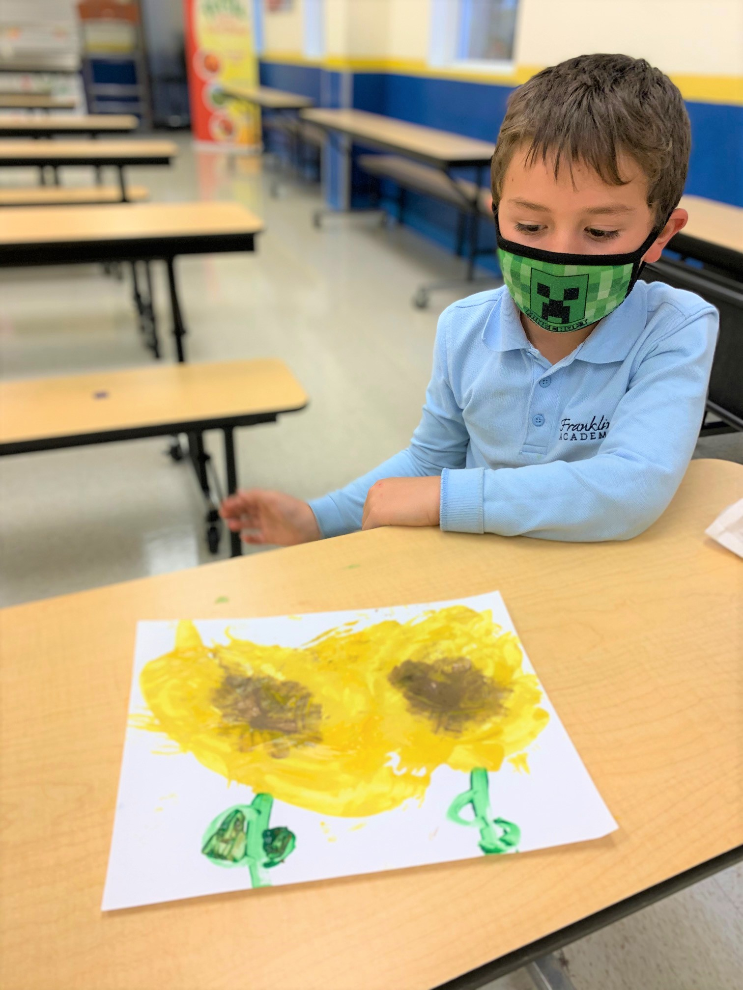 Sunflower painting Image number 2