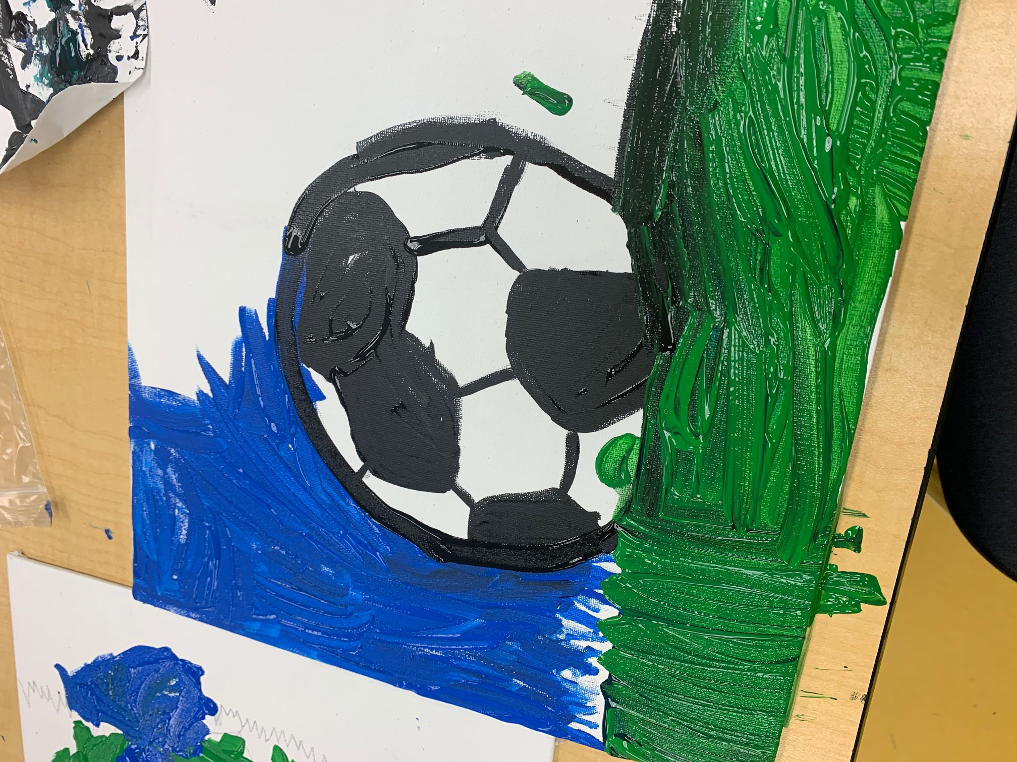 Soccerball painting Image number 13