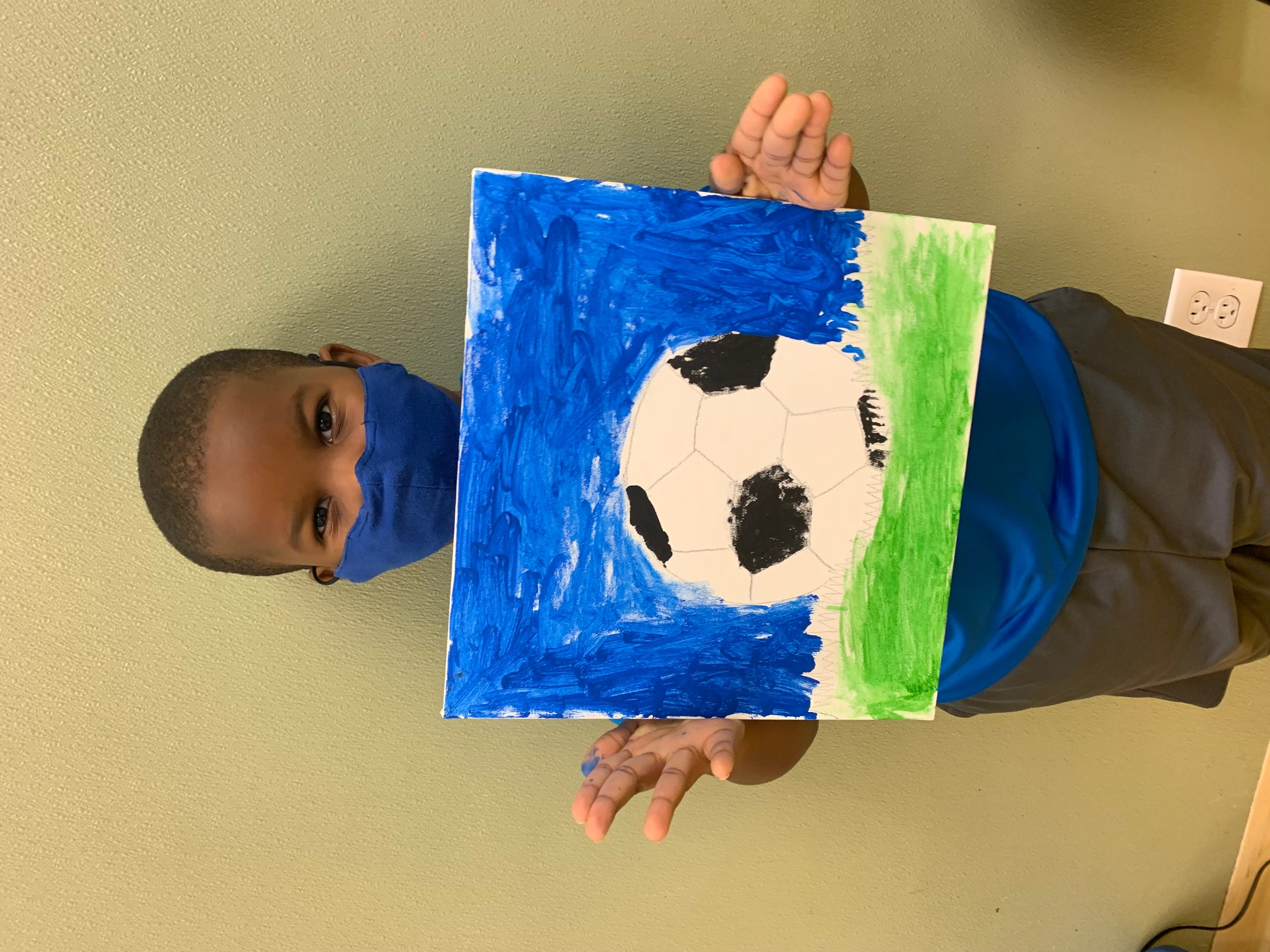 Soccerball painting Image number 10