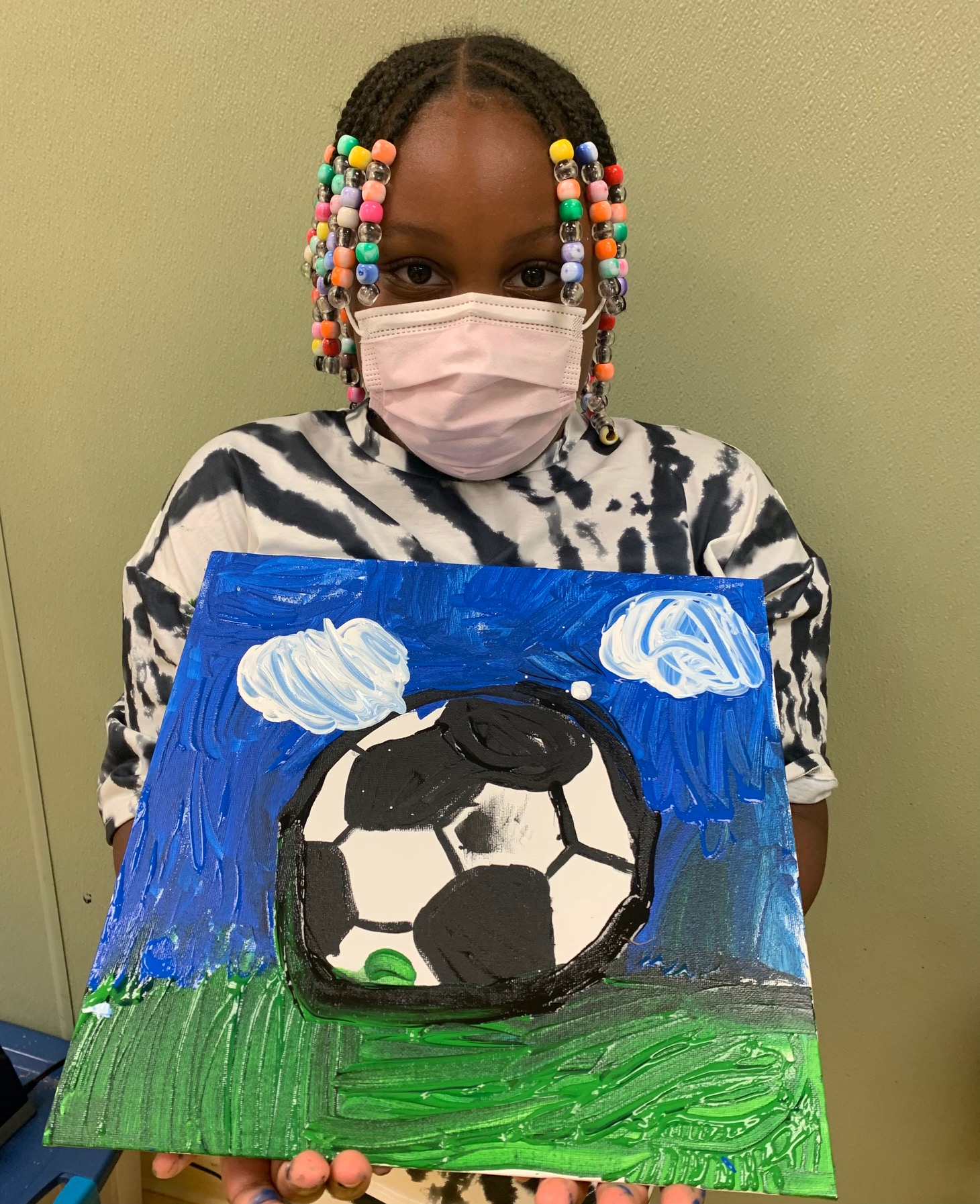 Soccerball painting Image number 9