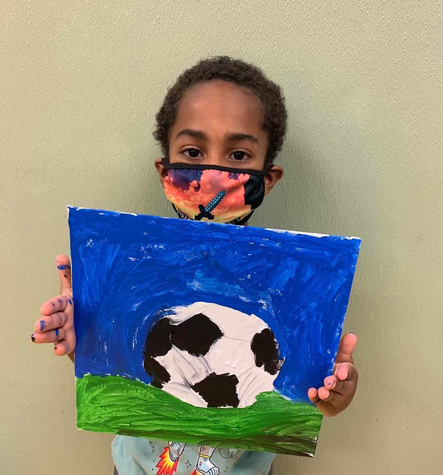 Soccerball painting Image number 6