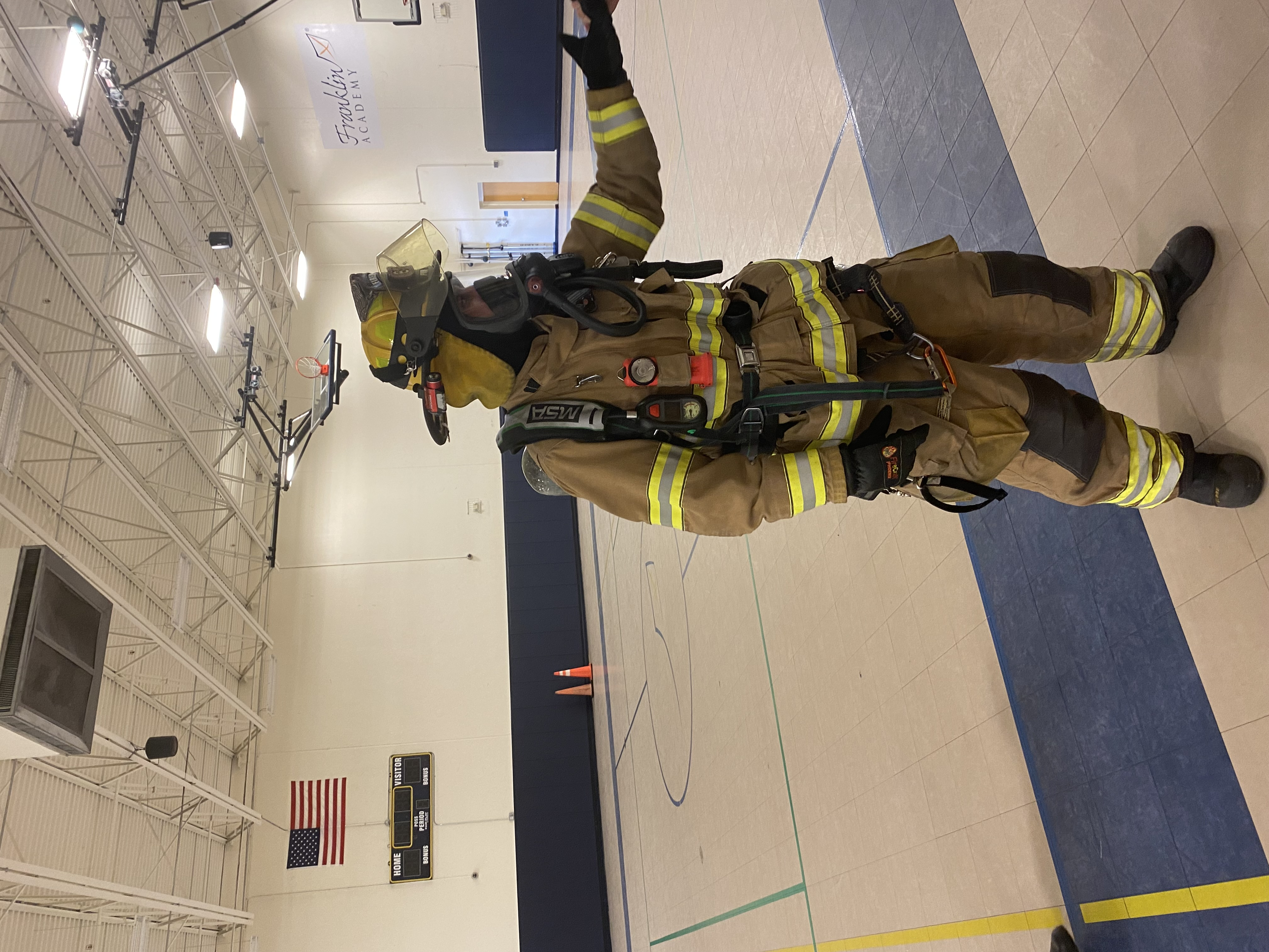 Meeting a firefighter Image number 8