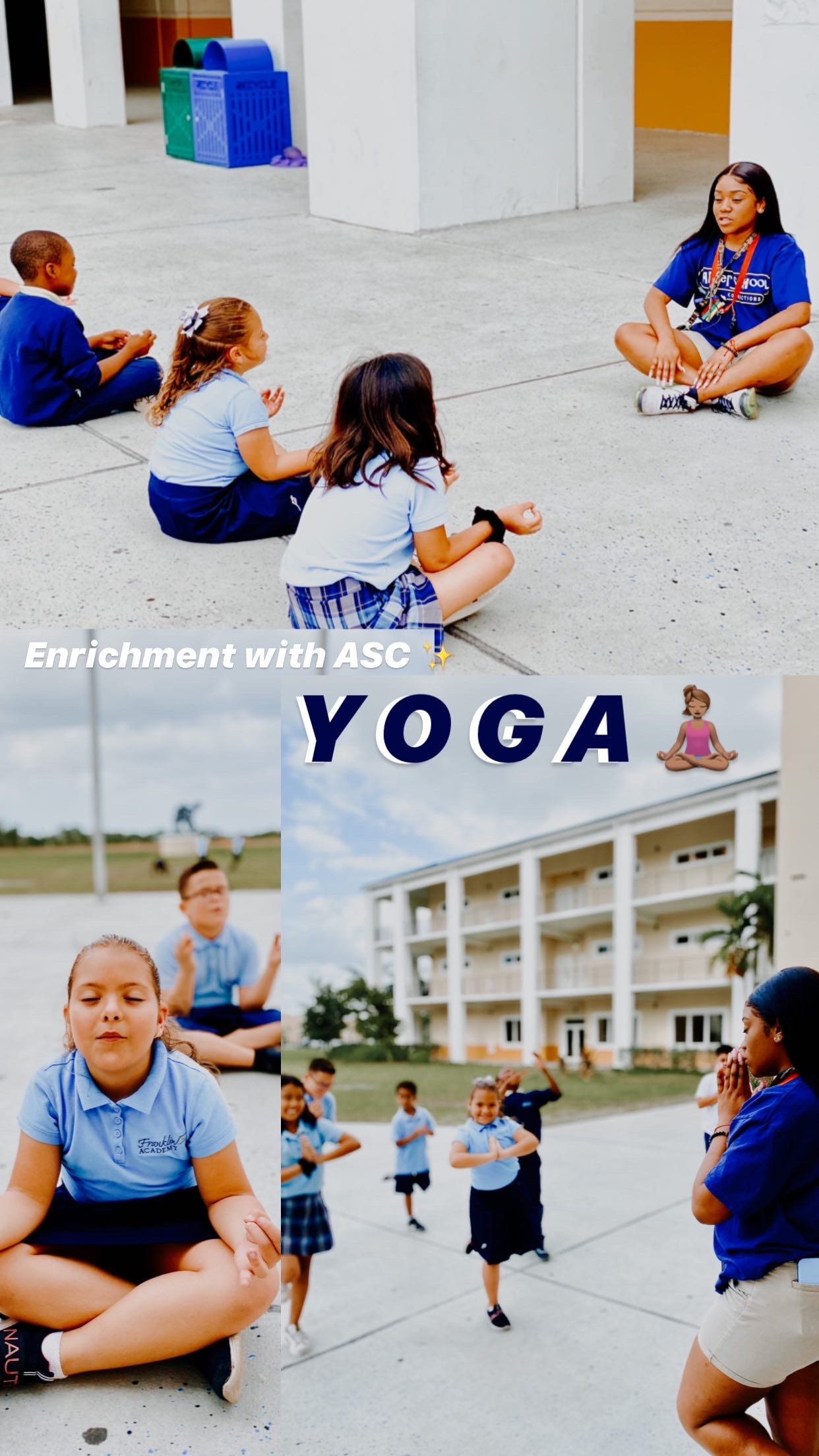 Enrichment of the Month - March - YOGA with Ms. Brady :) Image number 13