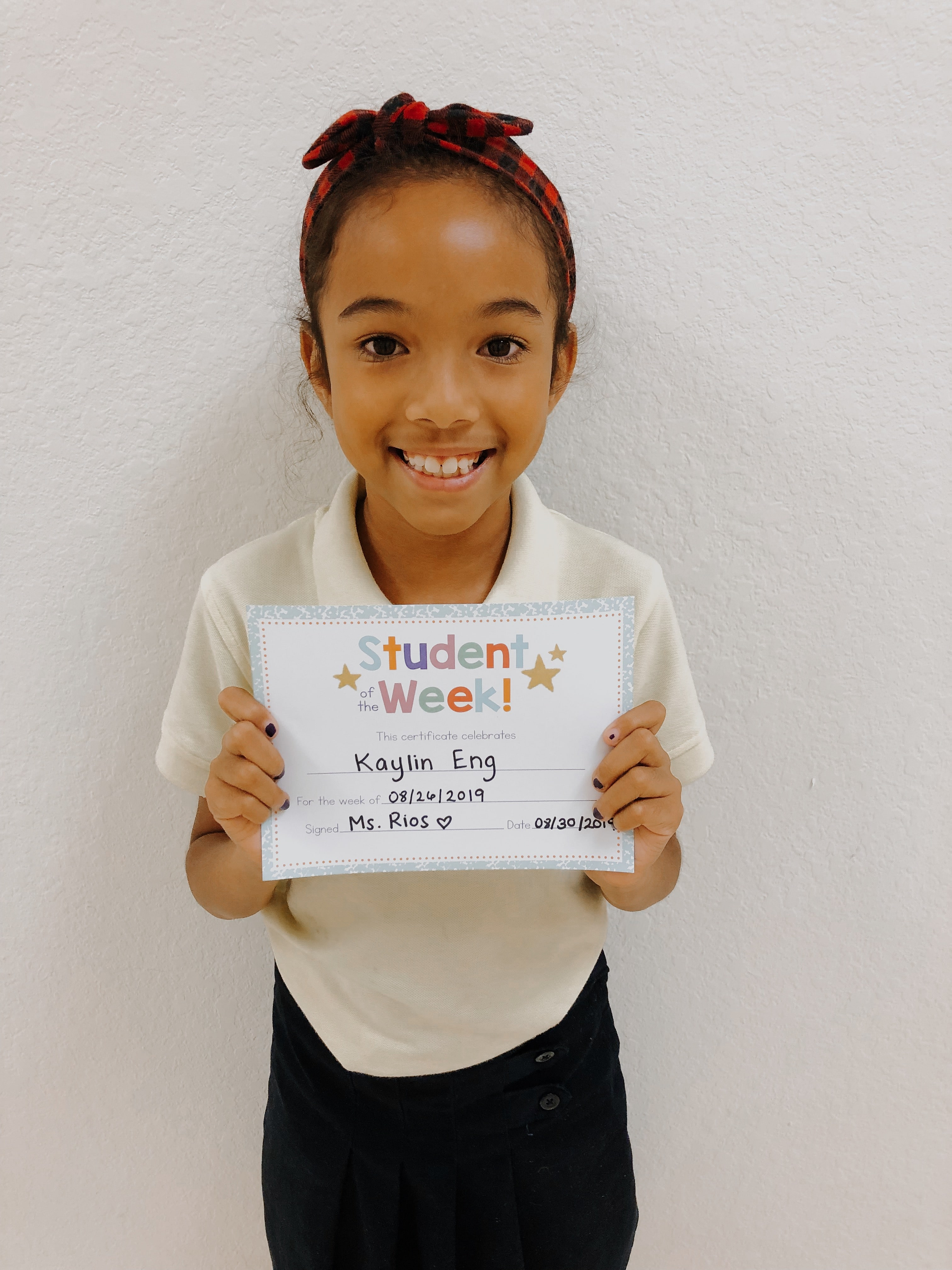 STUDENT OF THE WEEK! Image number 6