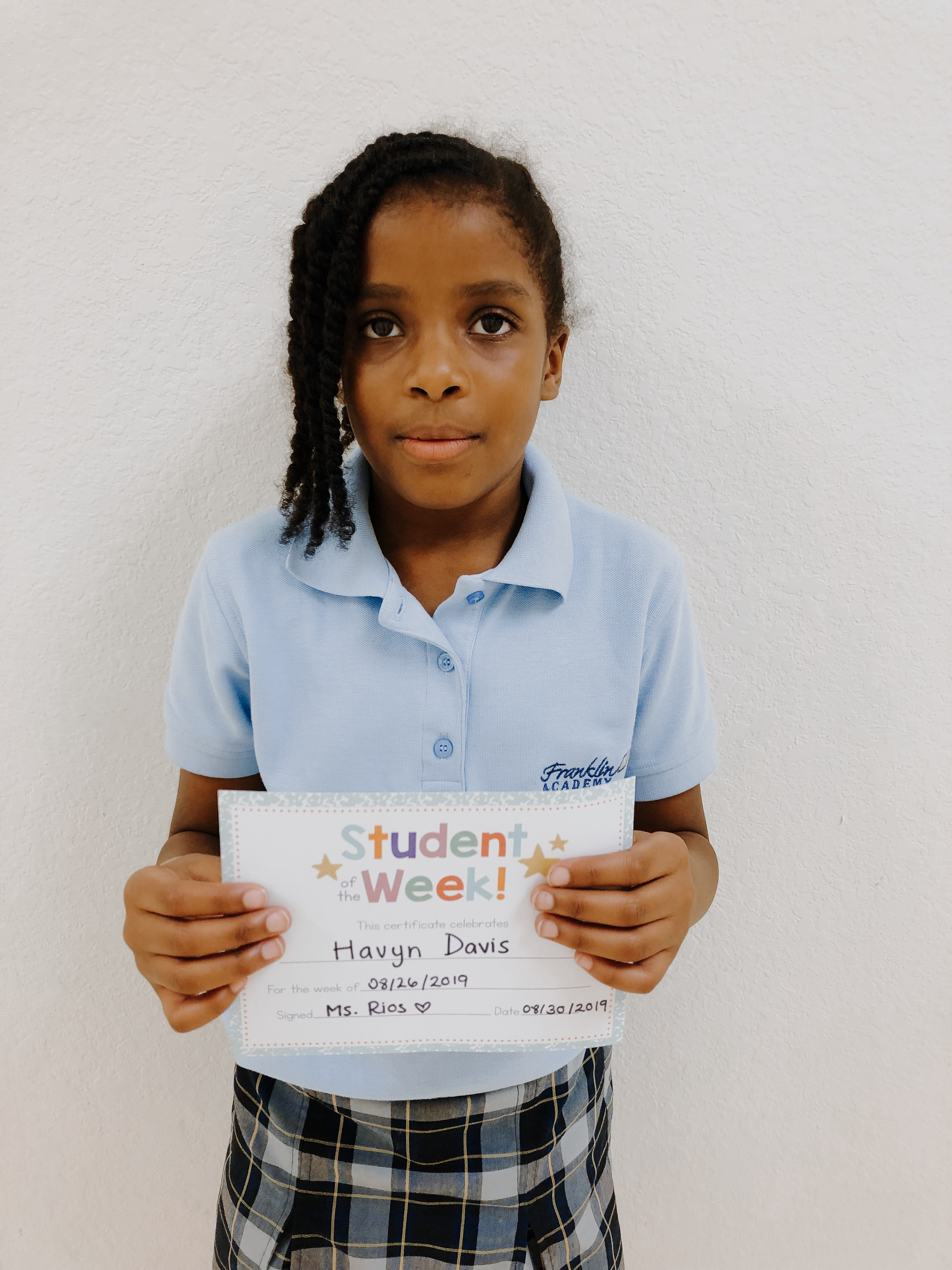 STUDENT OF THE WEEK! Image number 7