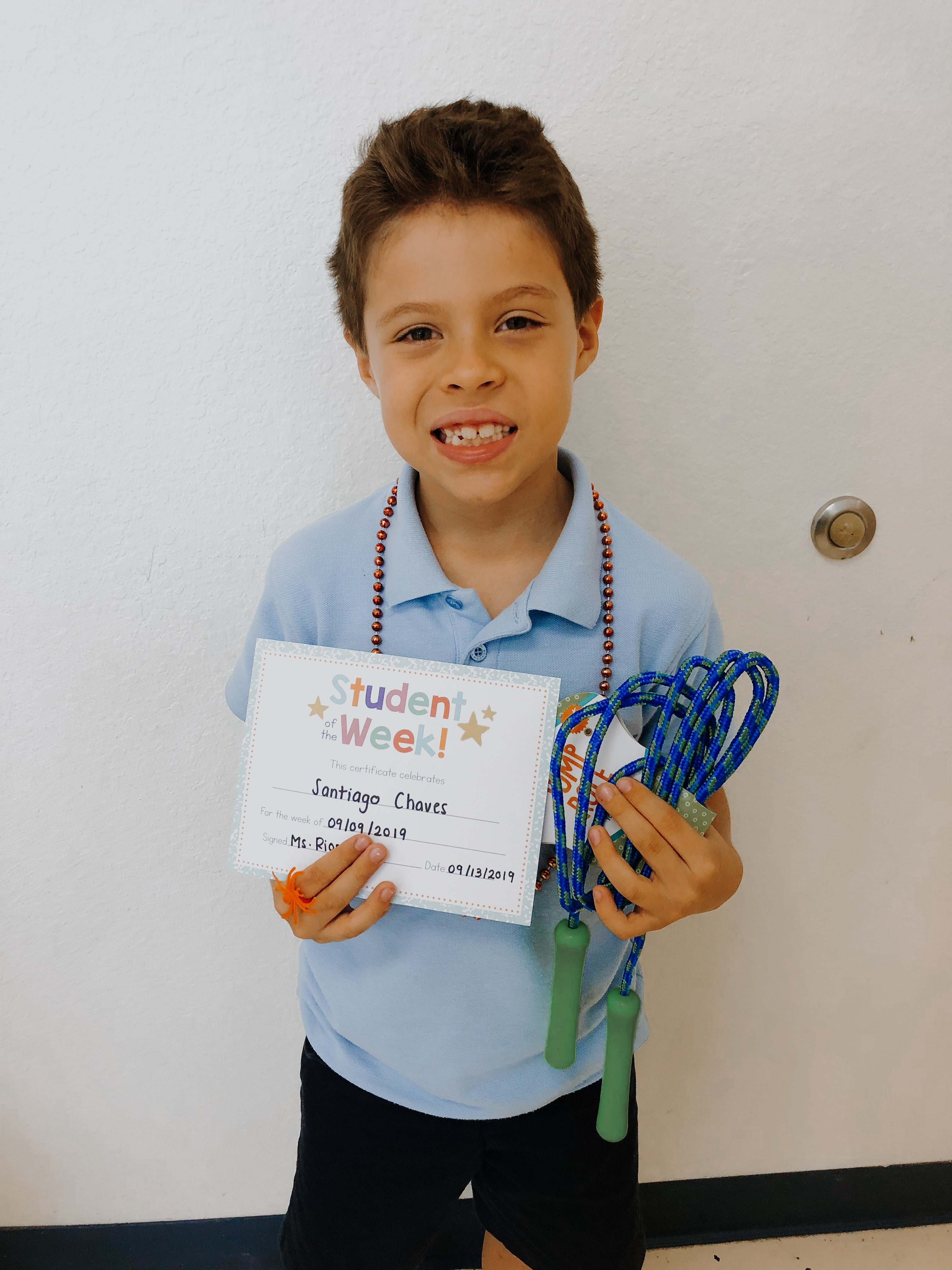 STUDENT OF THE WEEK! Image number 1