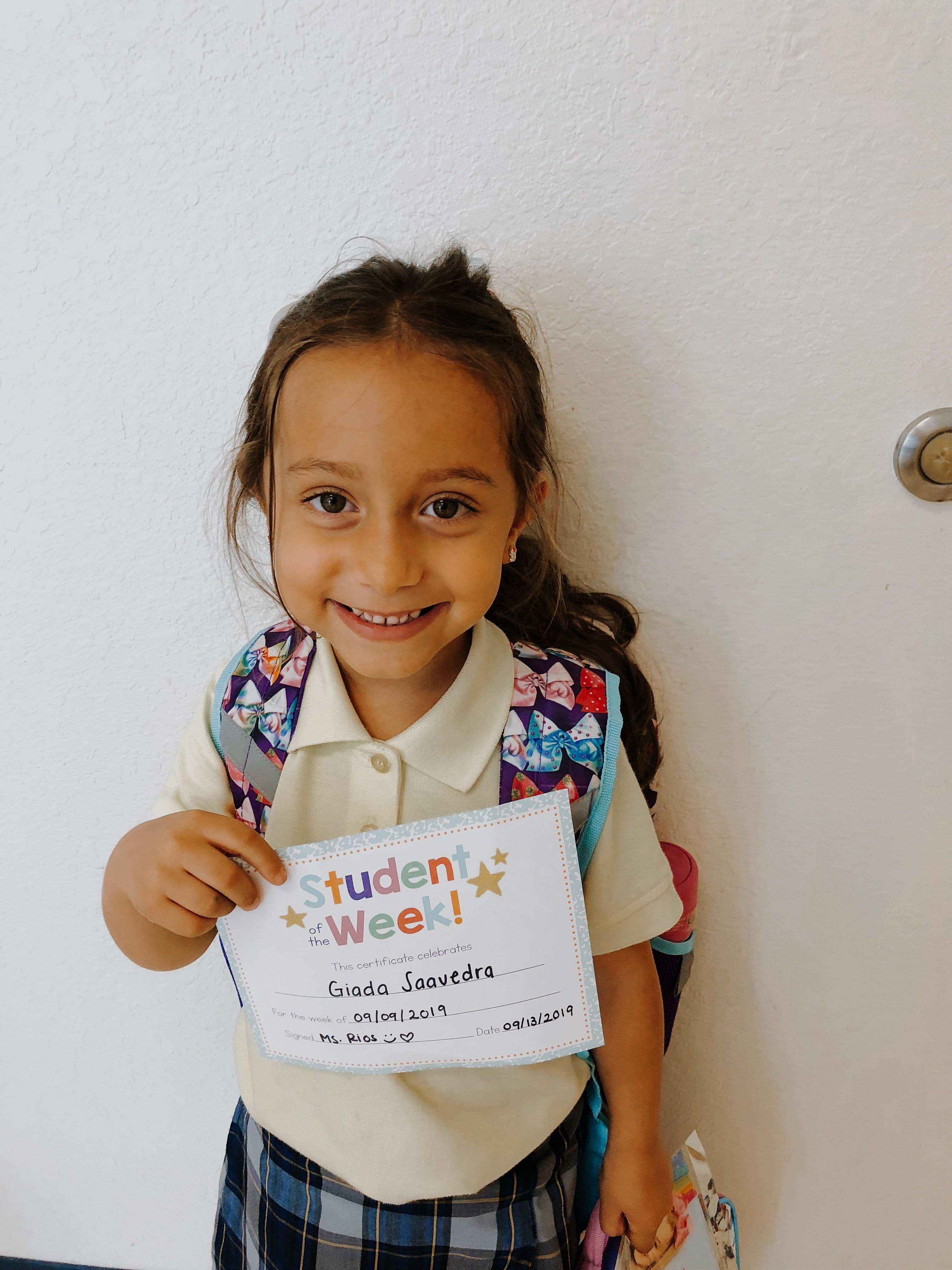 STUDENT OF THE WEEK! Image number 2