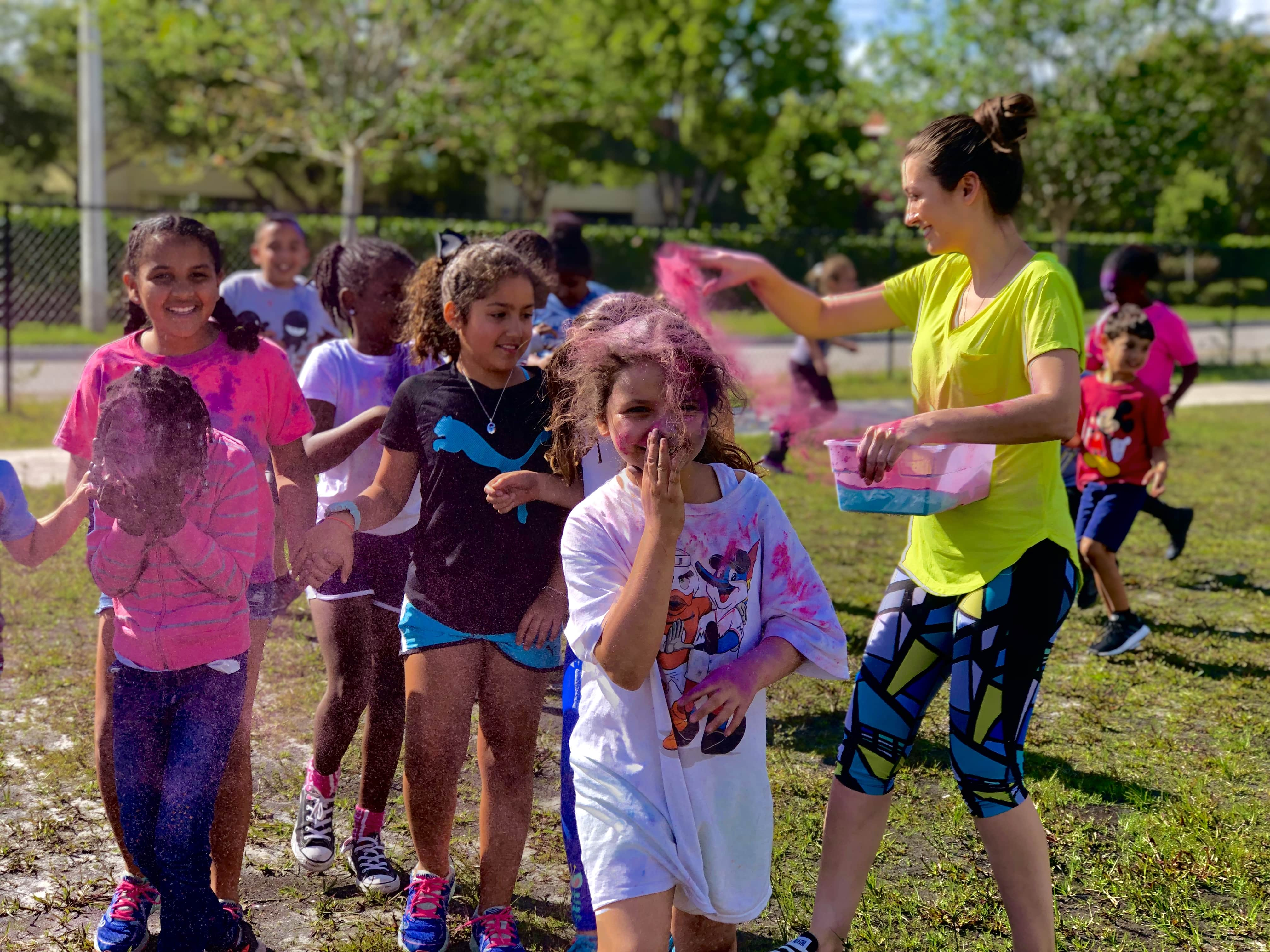 Spring Camp - Color Run Image number 7